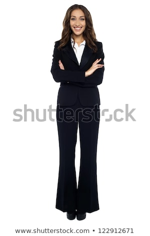 Charming business executive in formal attire Stock photo © stockyimages