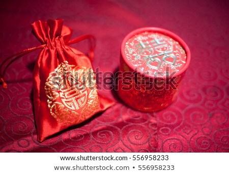 bruiloft · klein · plastic · gunst · dozen · woestijn - stockfoto © nneirda