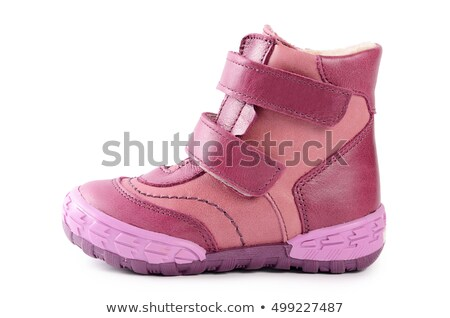 One children's pink leather boots Stock photo © RuslanOmega
