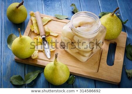 pear compote, jam Stock photo © M-studio