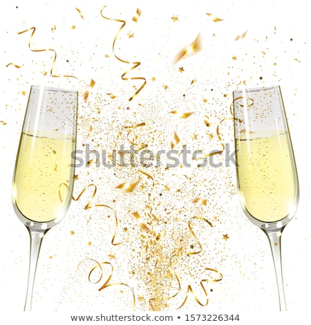 Goblet of champagne Stock photo © Givaga