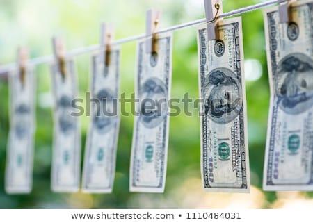 お金 黒 洗浄 マフィア 洗濯 ぬれた ストックフォト © gemenacom