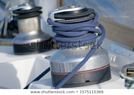 sailboat rigging Stock photo © nelsonart
