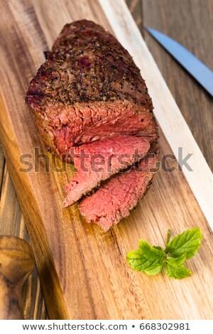 Büyük bıçak atış stüdyo mutfak Stok fotoğraf © wavebreak_media