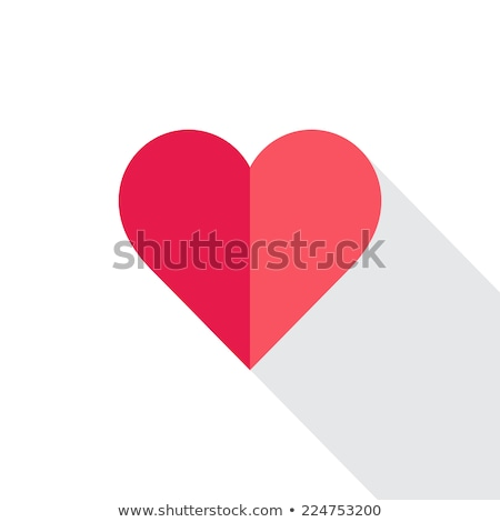 heart  a flat style Stock photo © Olena