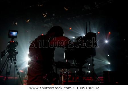 fotograf · kamery · strzelanie · ludzi · fotografii - zdjęcia stock © dolgachov