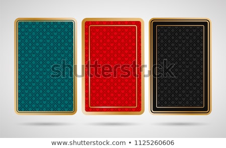 Siyah altın kumarhane iskambil kartları para karanlık Stok fotoğraf © SArts