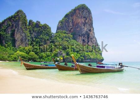 Tailandia playa krabi verano día sol Foto stock © bloodua
