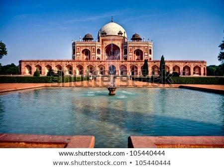 Grób Delhi Indie słynny atrakcją turystyczną cel Zdjęcia stock © dmitry_rukhlenko