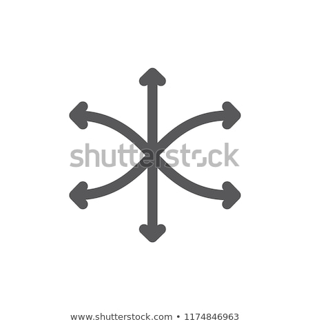 Vector extend symbol icon design Stock photo © nickylarson974