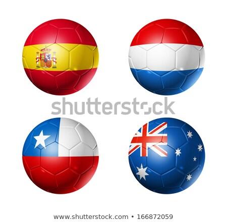 europese · voetbal · 2012 · vlag · alle - stockfoto © bestmoose