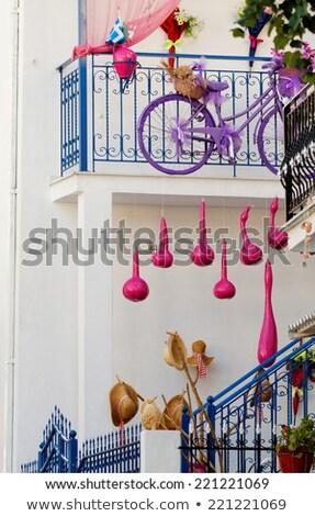 ajtó · LA · Buenos · Aires · Argentína · levél · labda - stock fotó © jkraft5