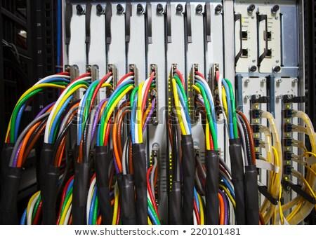 Usb 線 サーバー セキュリティ ネットワーク ソフトウェア ストックフォト © wavebreak_media
