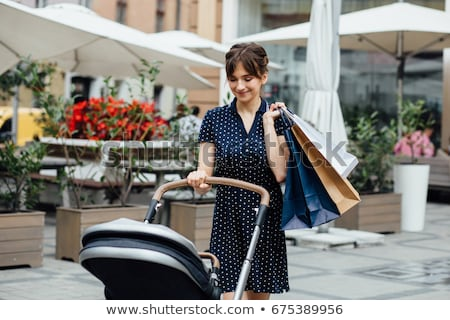 baby in shop carriage Stock photo © Paha_L