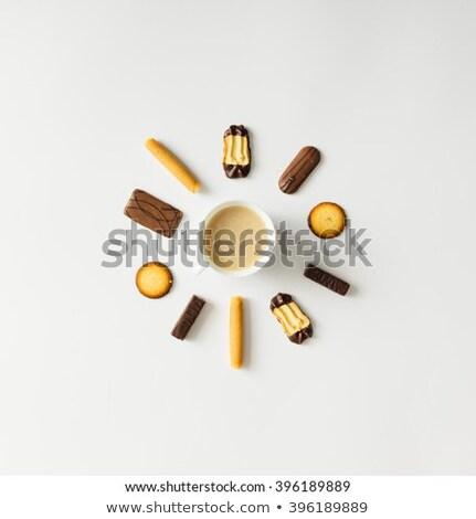 boglya · tej · étcsokoládé · chip · sütik · étel - stock fotó © dariazu