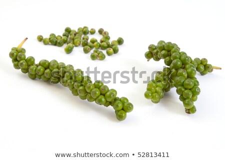 Verde pepe casalinga donna Foto d'archivio © fuzzbones0