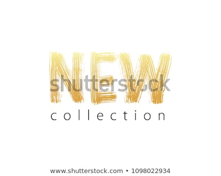 yeni · toplama · altın · vektör · ikon · dizayn - stok fotoğraf © rizwanali3d