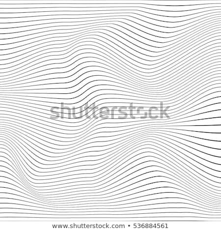 Zig-zag linee illustrazione abstract pattern poster Foto d'archivio © SArts