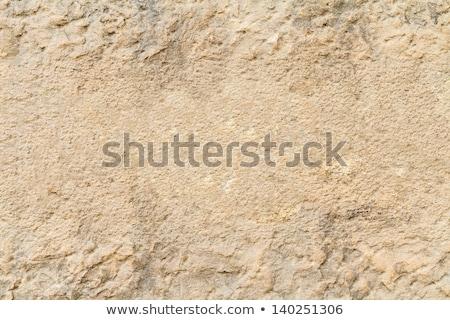 Eski taş duvar yüzey doku taş Stok fotoğraf © dolgachov