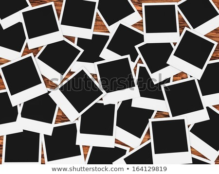 Top view photo of a lot of fashion illustrations Stock photo © deandrobot