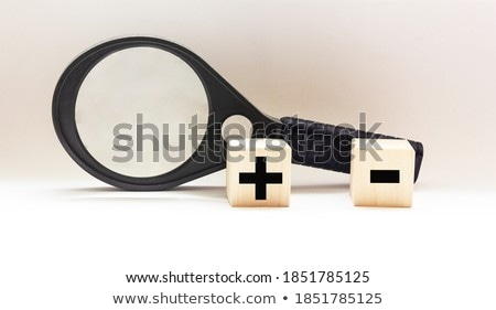 Division of two cubes Stock photo © MONARX3D