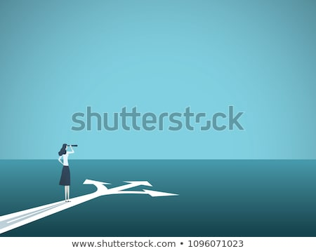 Woman choosing career way. Stock photo © RAStudio