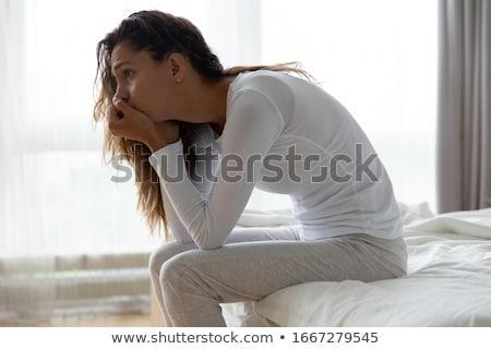 Stress dolore femminile mal di testa Foto d'archivio © IS2