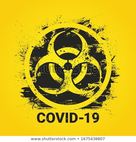 Quarantine biohazard danger.  Stock photo © olehsvetiukha