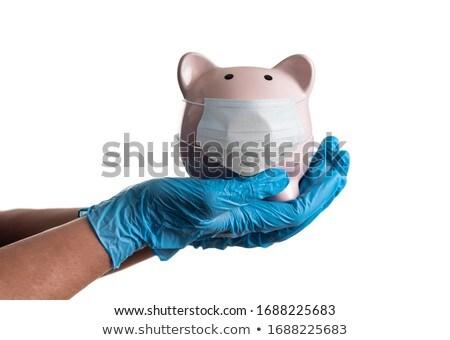 Arts verpleegkundige chirurgisch handschoenen Stockfoto © feverpitch