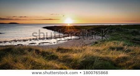 Landscape with Atlantic Ocean Bay, Ireland Stock photo © borisb17
