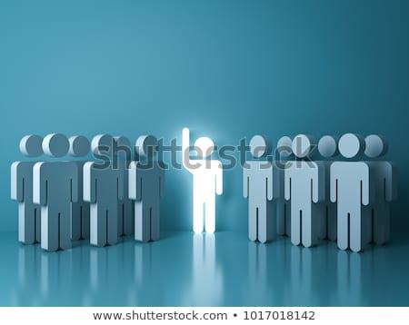Unique people Stock photo © leeser