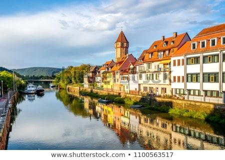 Principale città vecchia meridionale Germania estate Foto d'archivio © prill