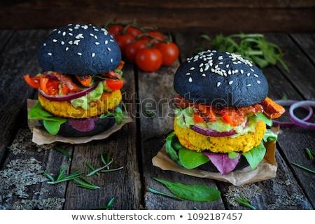 Potatoes with onion and arugula Stock photo © Digifoodstock