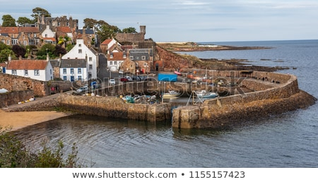 Anstruther fishing village on the east coast of Scotland Stock photo © lightpoet