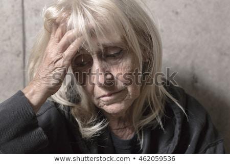 старший человек конкретные женщину женщины портрет Сток-фото © Lopolo