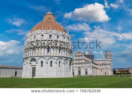 dome of Pisa Baptistry, Italy Stock photo © borisb17