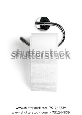 vécépapír · kép · három · tekercsek · köteg · akasztás - stock fotó © stootsy