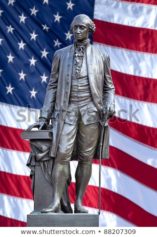 george washington statue the forefather of the united states stock photo © johnkwan