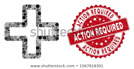 Doctor Required Red Vector Icon Design Stock photo © rizwanali3d