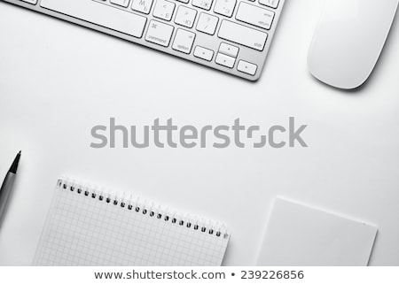 Clean desktop with computer keyboard Stock photo © tab62