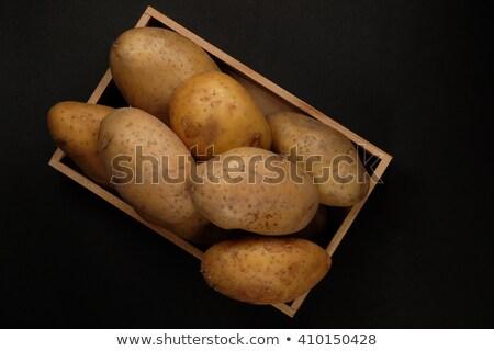 egész · krumpli · nyers · petrezselyem · fehér · csoport - stock fotó © digifoodstock