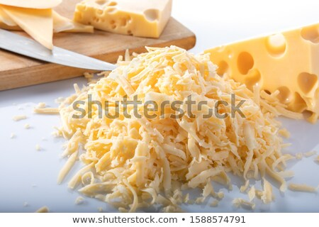 grated swiss cheese stock photo © digifoodstock
