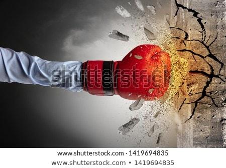 Kéz intenzív nagy üzlet háttér üzletember Stock fotó © ra2studio