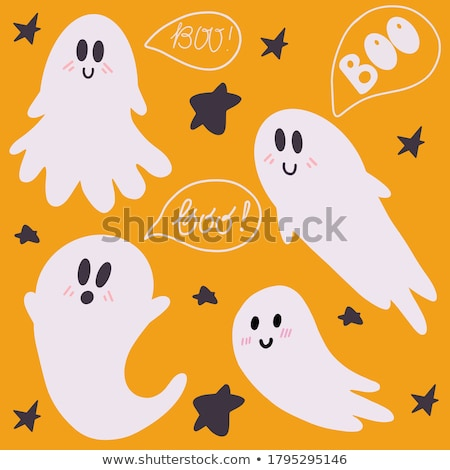 Stock photo: Creepy Halloween midnight illustration