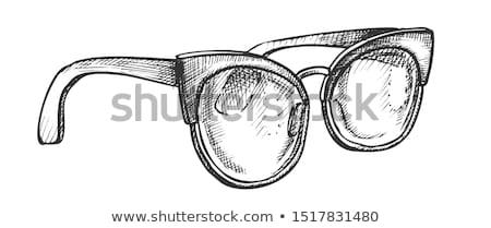 очки видение чернила вектора мужчин оптический Сток-фото © pikepicture