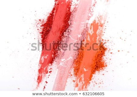 Red cosmetic texture background, make-up and skincare cosmetics  Stock photo © Anneleven