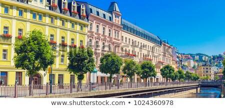 Ciudad centro república vista mercado edificio Foto stock © borisb17
