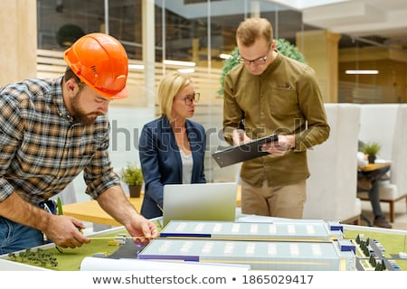 法的 チーム 作業 オフィス プロジェクト 国際 ストックフォト © Kzenon