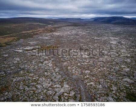 Lava Field Aerial Stock photo © unkreatives