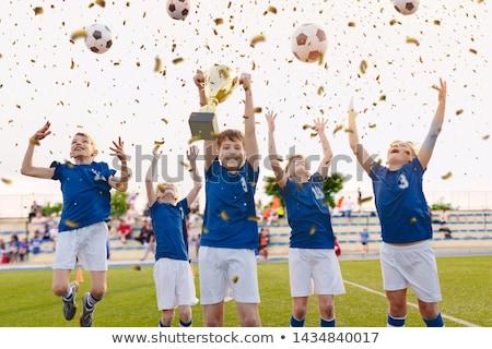 счастливым дети школы спортивная команда Сток-фото © matimix